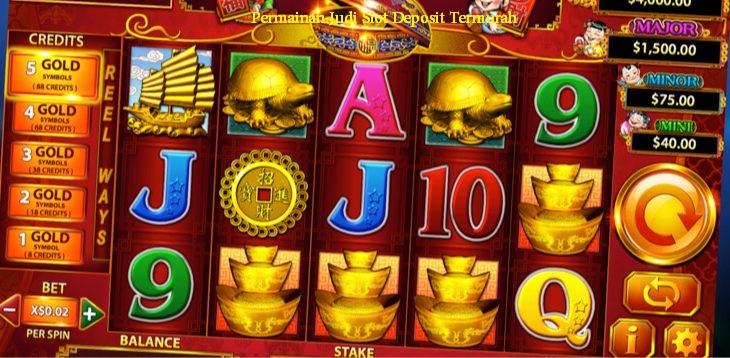 Permainan Judi Slot Deposit Termurah